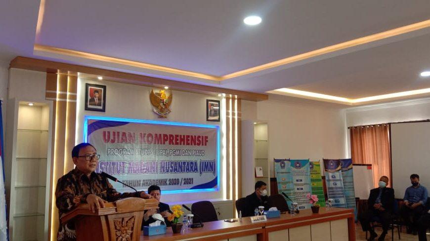 Pembukaan Ujian Komprehensif Program Studi S1 PAI,PGMI & PIUAD Gel III Institut Madani Nusantara (IMN)
