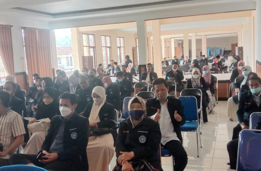 Kegiatan Sosialisasi & Dialog dengan Seluruh mahasiswa PASCA Beserta alumni PASCA terkait perubahan bentuk STAI Sukabumi ke Institut Madani Nusantara